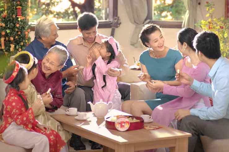 Вьетнамские старики до самой смерти живут в семьях детей и внуков