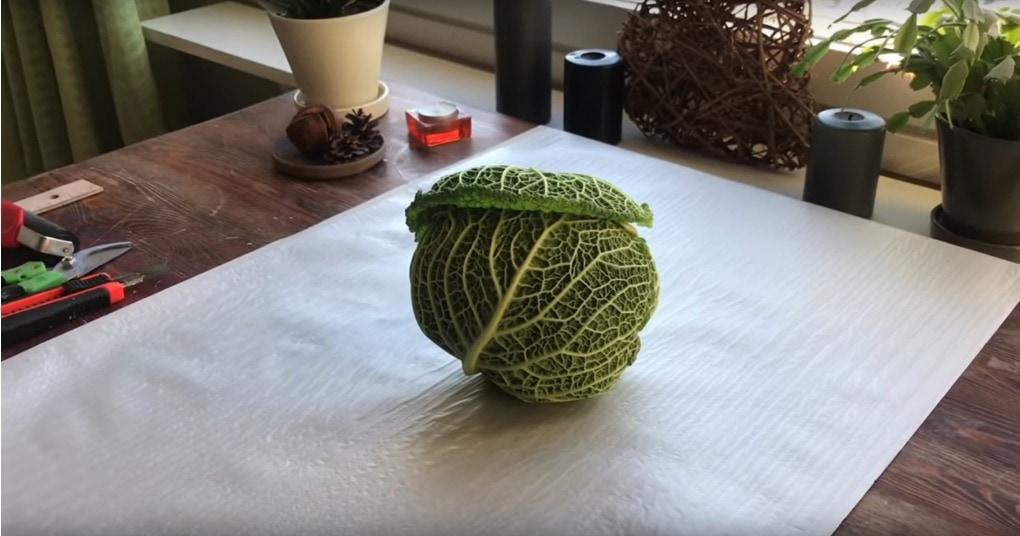 Вот как капуста может украси…
