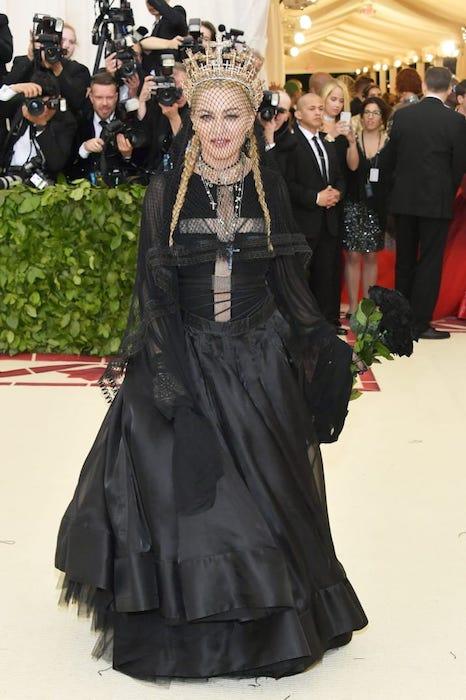 Мадонна на Met Gala-2018.
