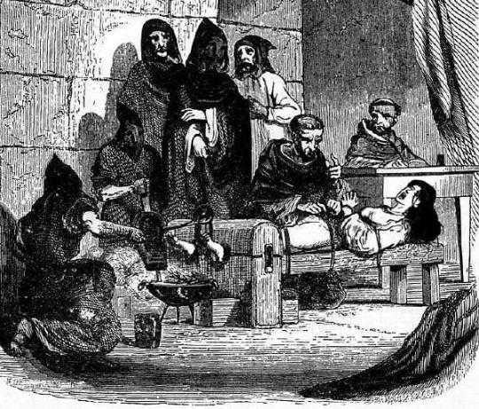 Сексуальные истязания в средневековья
