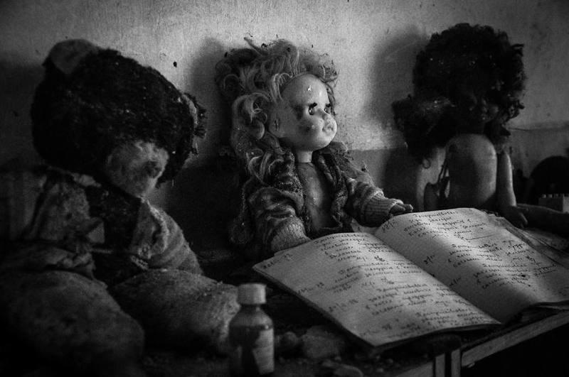 Детские сады, школы и больницы выглядят особенно жутко Припять, Чернобыль, зона, туризм, чаэс, экстрим