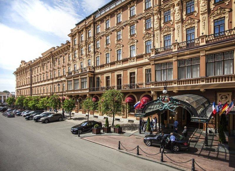 4. «Гранд-отель Европа», Санкт-Петербург Отель, архитектура, гостиница, история, россия, тайны