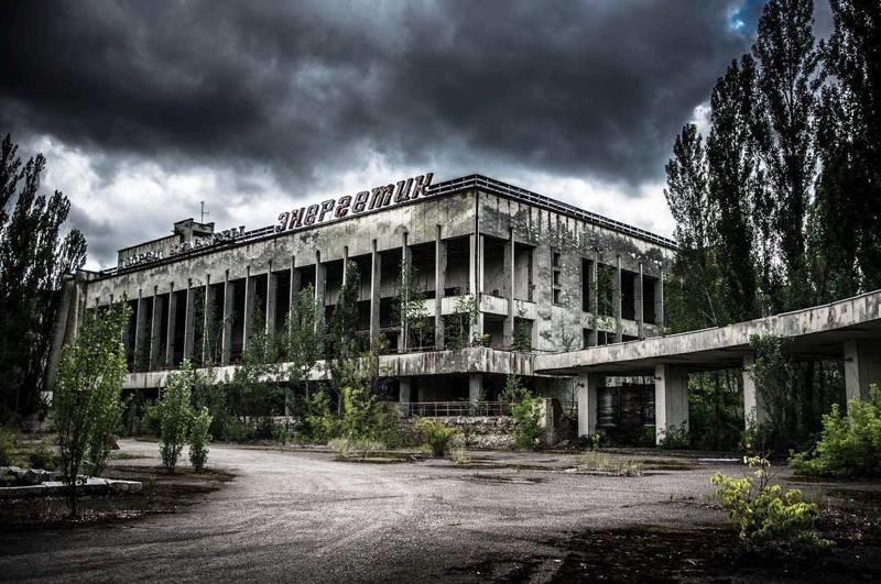 И знаменитого ДК Энергетик Припять, Чернобыль, зона, туризм, чаэс, экстрим