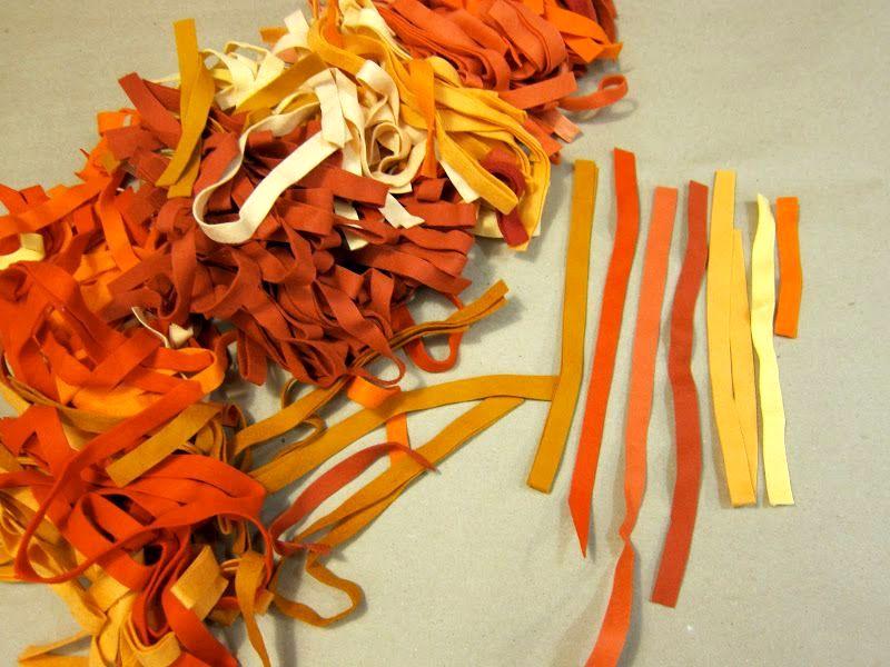 материал для создания ковра из фетра