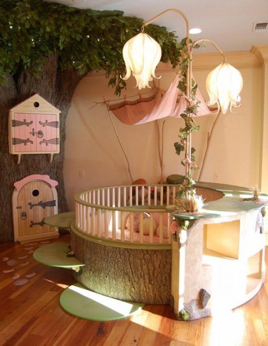 Сказочный лес в детской