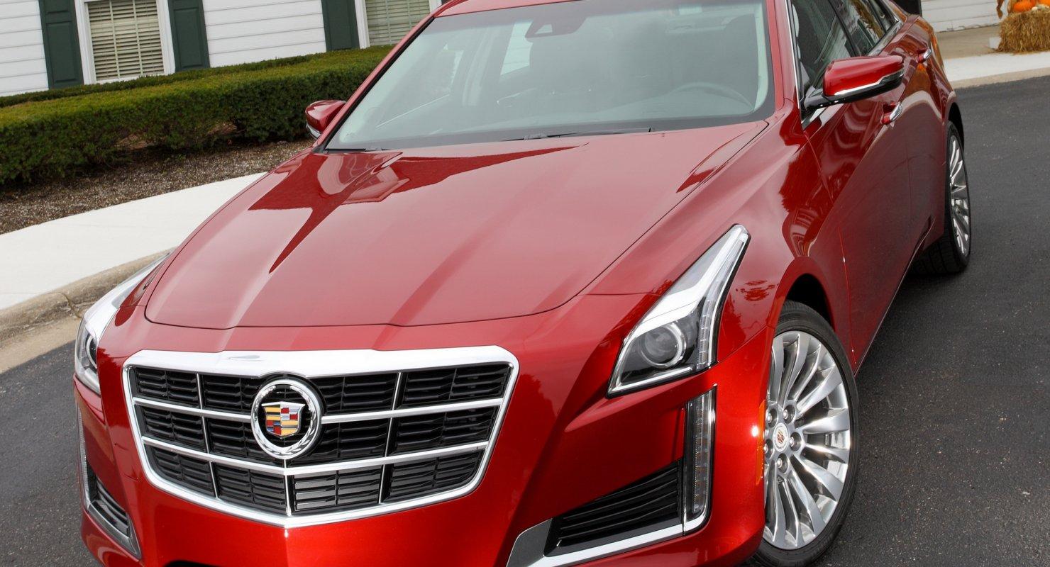 Обзор Cadillac CTS Автомобили
