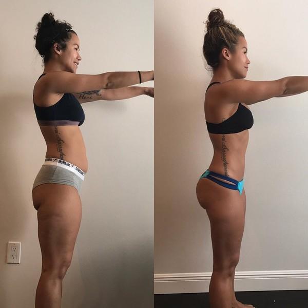 Похудеть мышцы девушка