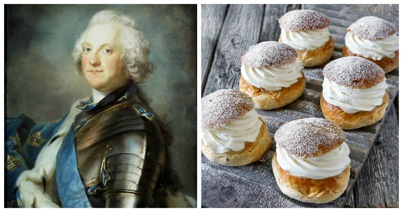 Нелепая смерть короля Швеции, которого убила булочка
