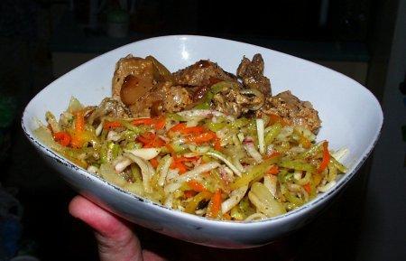 Шалгам - салат из редьки