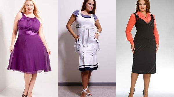 6e237f9daa5 Модели сарафанов для полных женщин — 20 модных фасонов.
