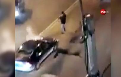 В Петербурге мужчина открыл стрельбу из ружья после ДТП