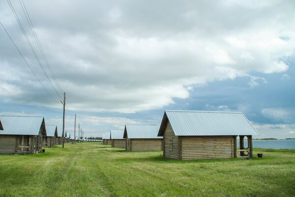 60 домиков базы отдыха