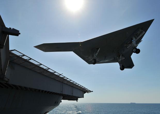 Американский флот получит 72 палубных беспилотника