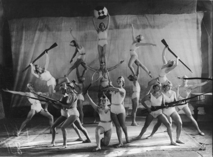 Гимнастическая пирамида, СССР