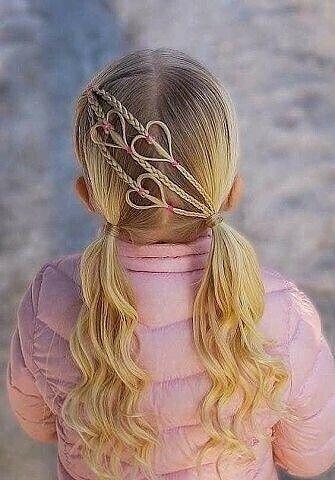 Прически для девочек, забирайте идеи красота,прически