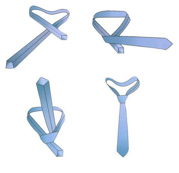 всегда завязать галстук подробно картинках приготовления этого