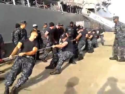 Русские моряки против американских