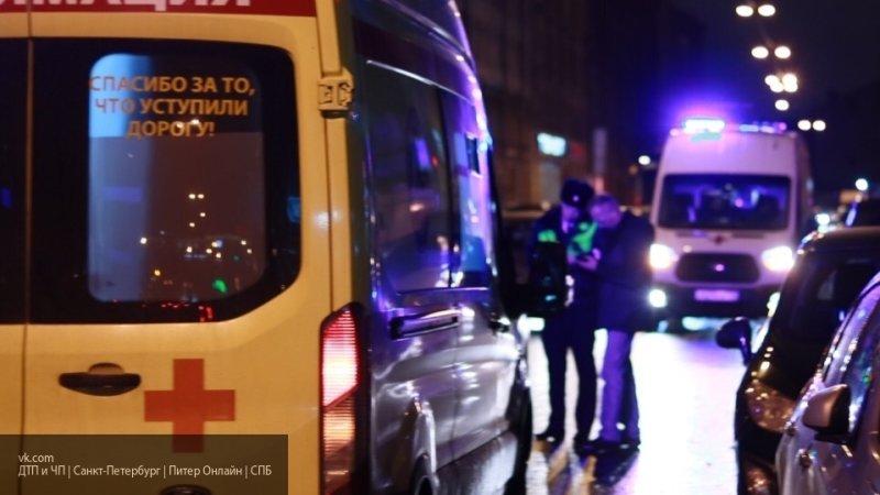 Девушка на BMW сбила группу людей в центре Петербурга