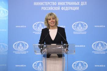 """Захарова """"на бис"""" прокомментировала сообщения о возможной отставке Лаврова"""