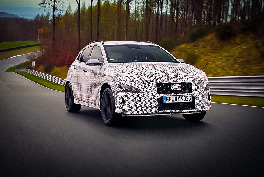 Hyundai рассказал о моторе «заряженной» Kona N Новости