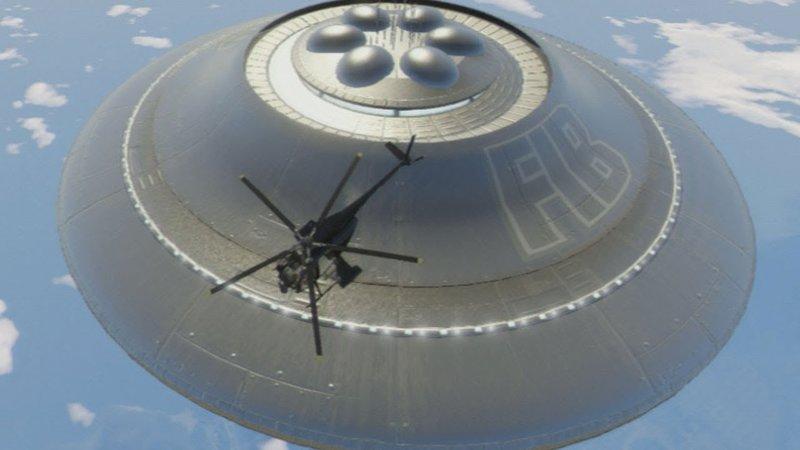 Как открыть секретную миссию с НЛО в GTA V