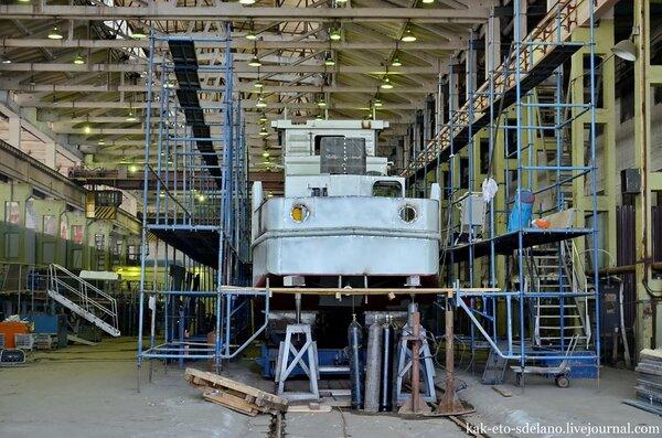 Как делают катера для ВМФ России