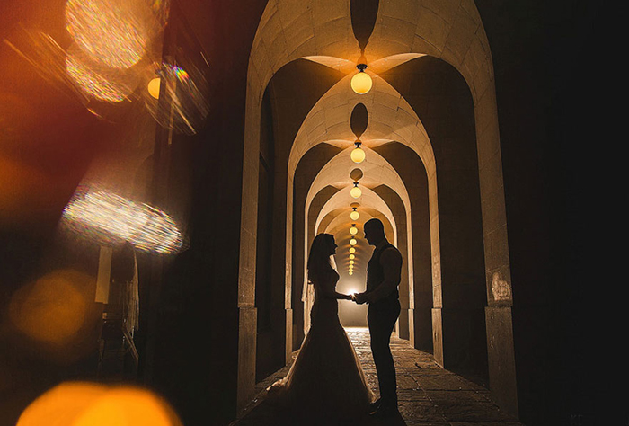 В итоге получились отличные романтичные фотографии.