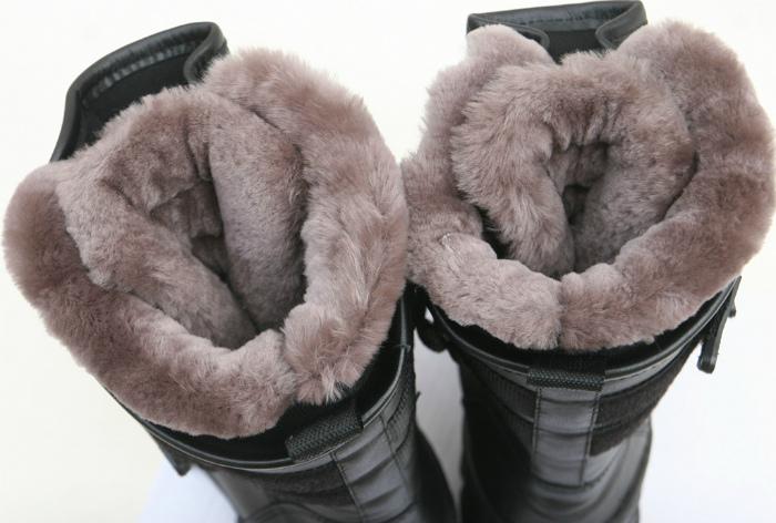Выбор зимней обуви.