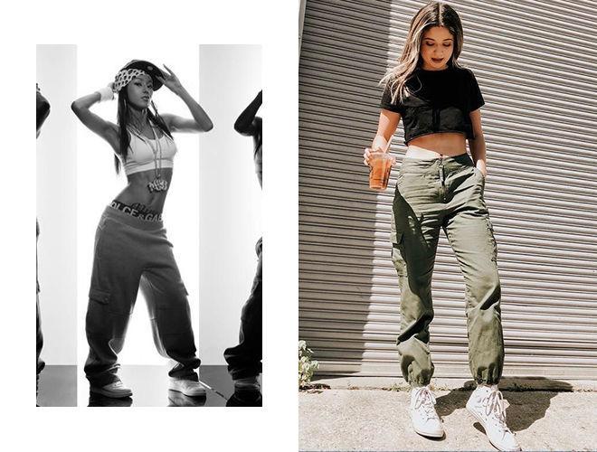 Брюки для хип-хопа 1990-х фото