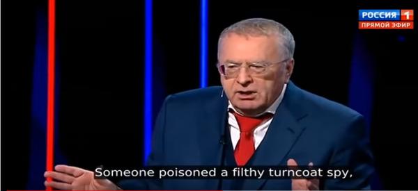 Жириновский до извинений напугал обычных западных громадян