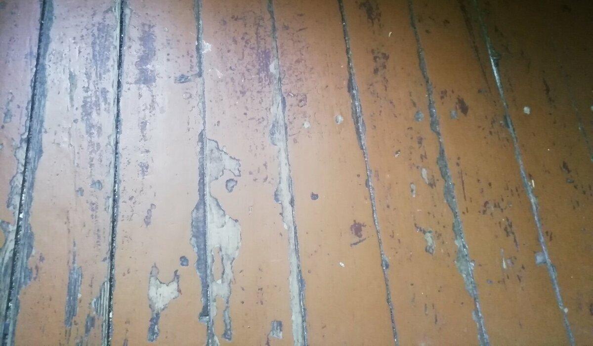 Как выровнять старый деревянный пол фанерой