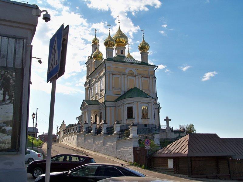 В Плесе несколько прекрасных церквей и набережная длиной 3 км Города России, Плёс, ивановская область, красивые города, пейзажи, путешествия, россия