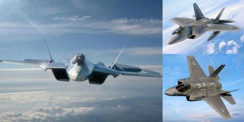 DEBKAfile: 4 Су-57 бросают в…