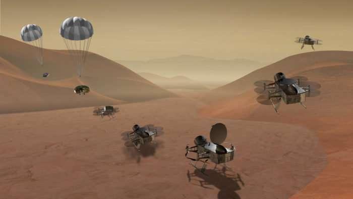 Титан: вторжение дронов