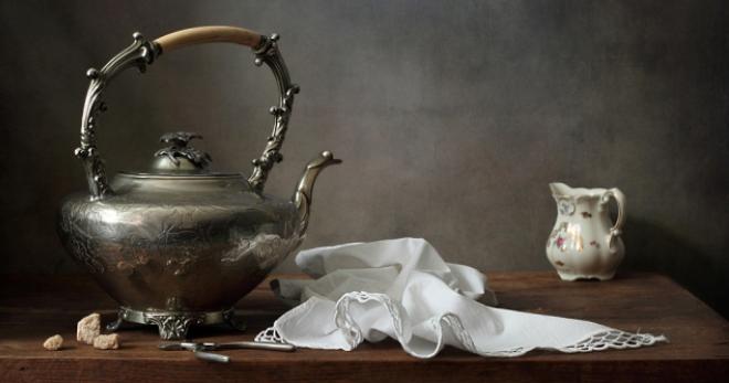 Как убрать накипь в чайнике …
