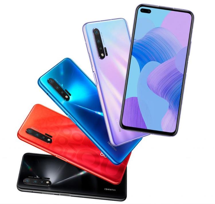 Смартфоны Huawei Nova 6 и Nova 6 5G получили «дырявый» экран с двойной селфи-камерой новости,смартфон,статья