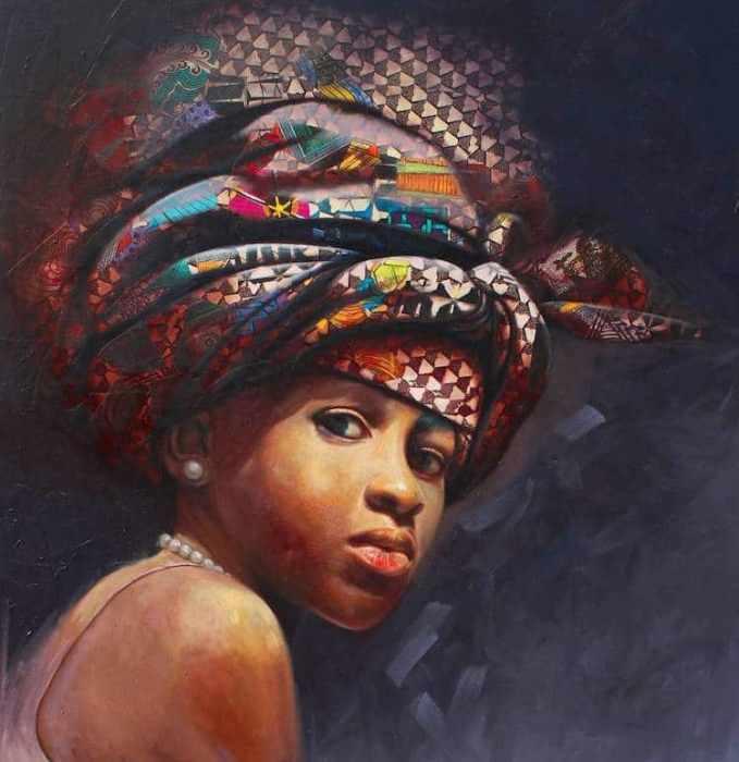 Яркий и эмоциональный портрет.