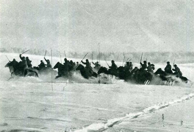 Как наши кавалеристы в 1942 году порубили три румынских полка