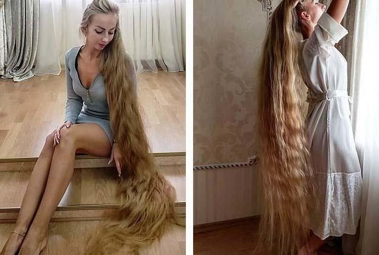 Алёна Кравченко — Рапунцель из Украины, которая не стригла волосы в течение 28 лет Алёна Кравченко, в мире, волосы, девушка, красота, люди, рапунцель