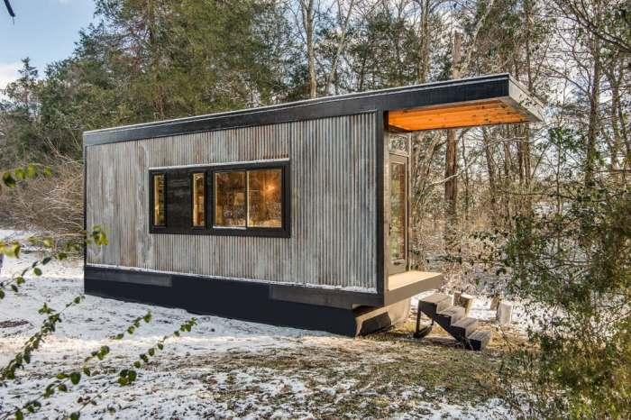 Дом, разработанный студией New Frontier Tiny Homes.