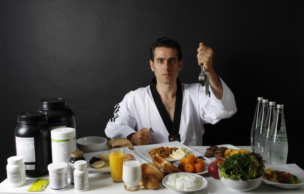 Чем питаются олимпийские чемпионы