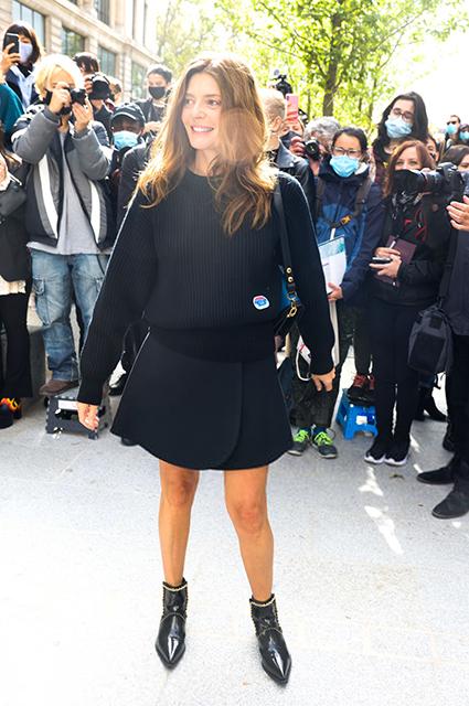 Неделя моды в Париже: Наталья Водянова с мужем Антуаном Арно, Джорджина Родригес, Алисия Викандер на показе Louis Vuitton Новости моды