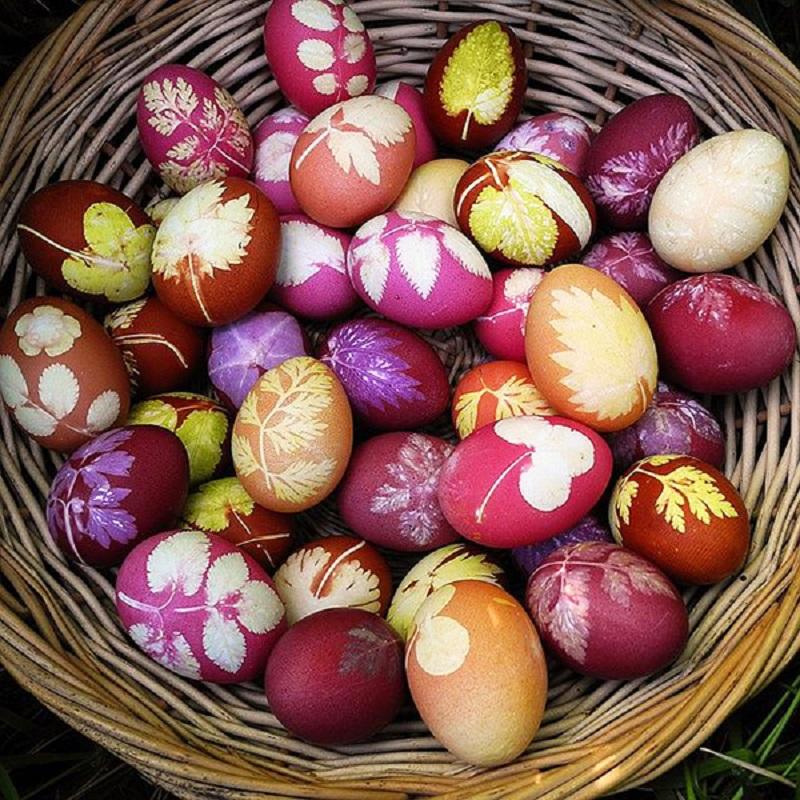 утверждает окраска яиц на пасху фото что