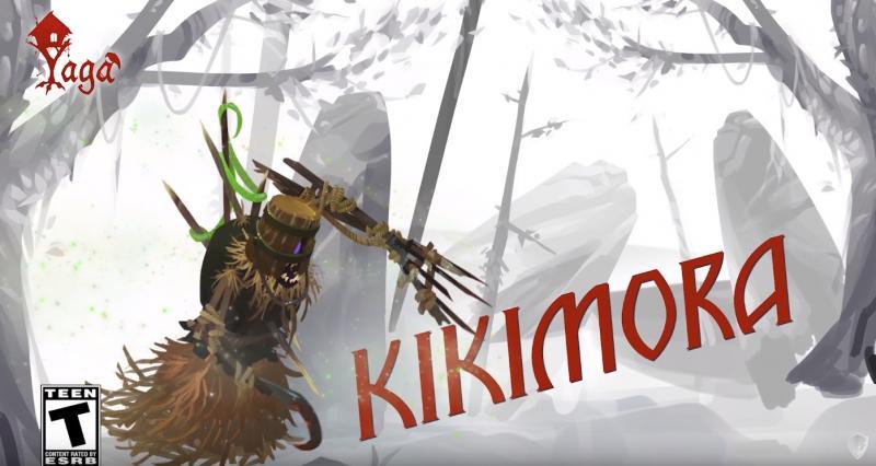Новый трейлер ролевой игры Yaga посвящен Кикиморе action,yaga,анонсы,Игры