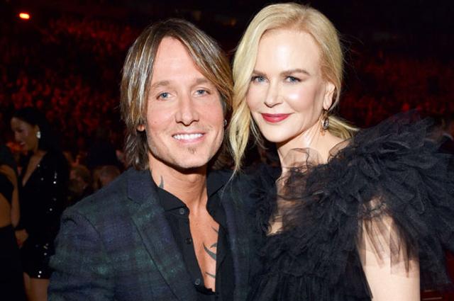 Кит Урбан довел Николь Кидман до слез на премии CMA Awards