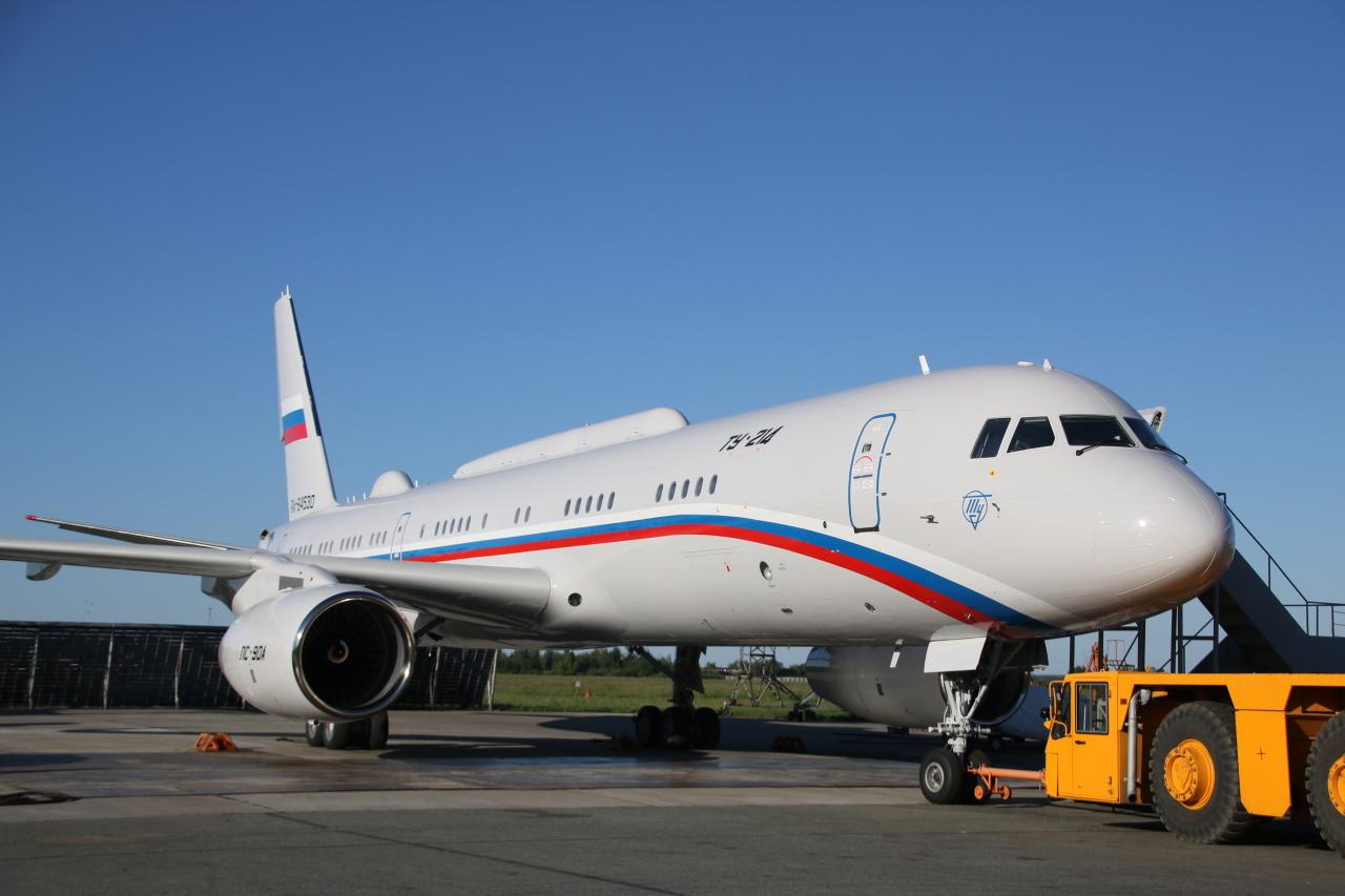 «Туполев» передал в эксплуатацию очередной Ту-214