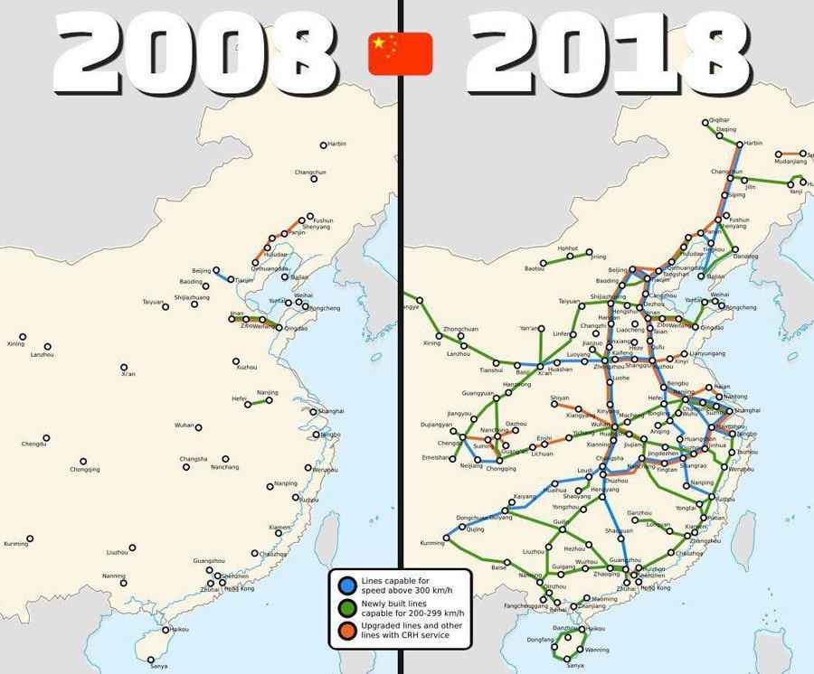 Все, что нужно знать о развитии железнодорожного транспорта в Китае