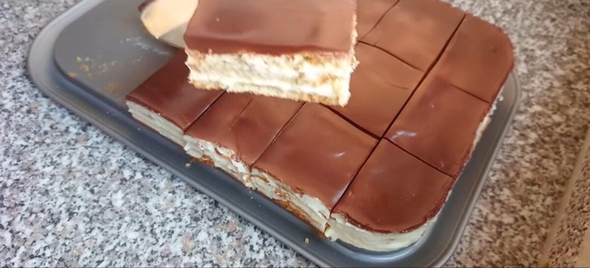 Готовый торт без выпечки