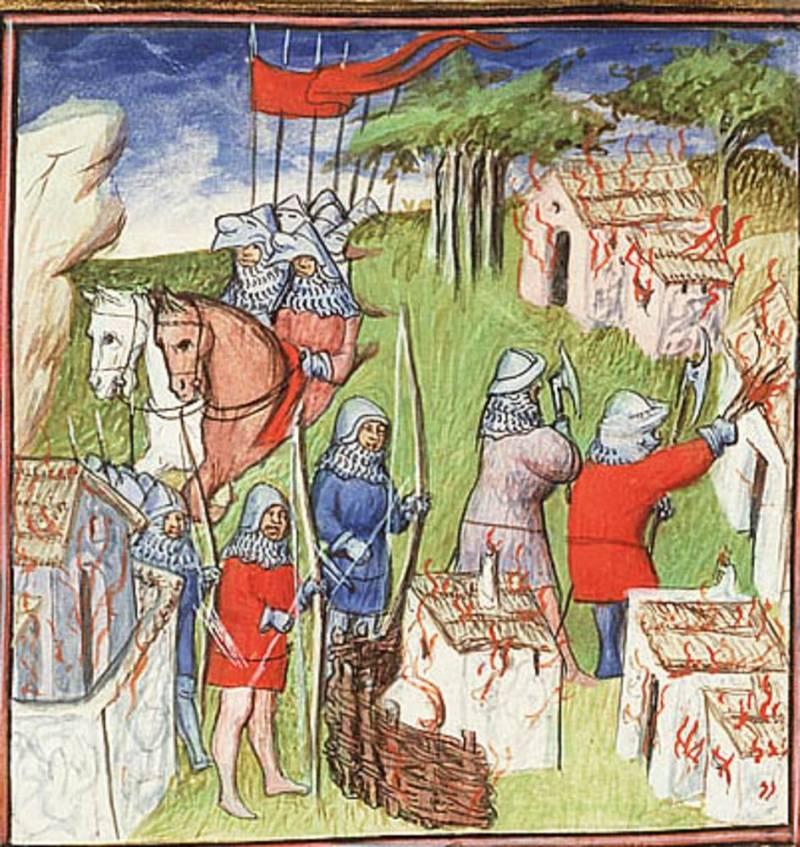 Рыцари Столетней войны: набор войска история