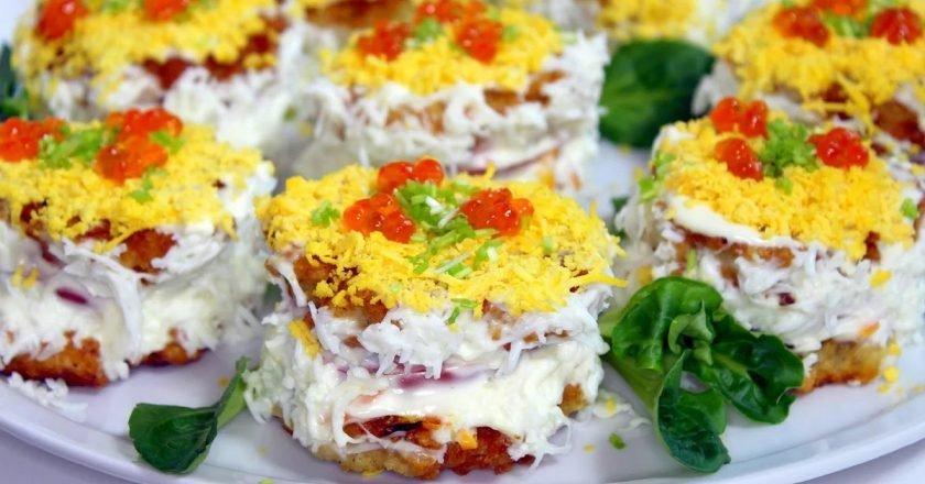 Пирожные из рыбы закуски,рыбные блюда
